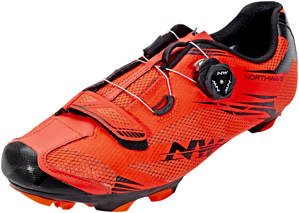 Northwave Chaussures Rouges Avec Velcro Pour Les Hommes Yj031d